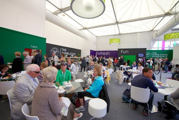 The Wimbledon Experience hospitality package